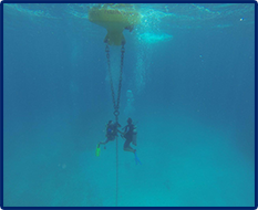 Weather and Oceanographic Data Buoy and Land-Based Weather Station Deployment